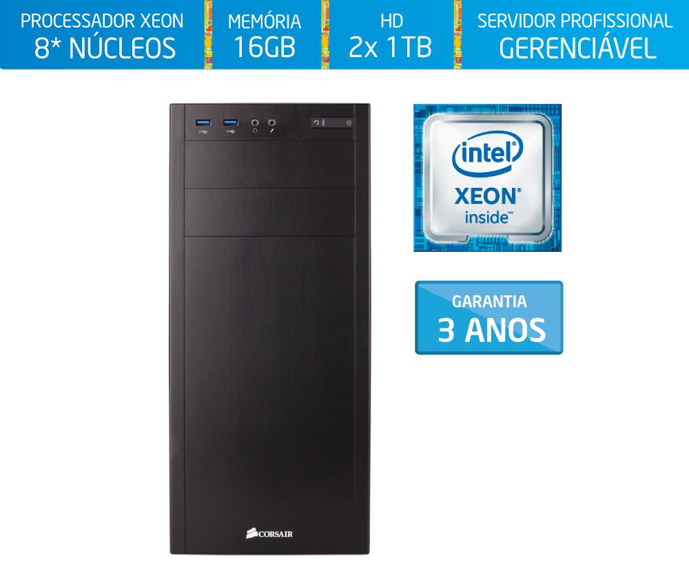 Servidor Silix® 8* Núcleos X1200T V6 Intel® Xeon E3-1230 V6 3.5 Ghz 8 MB / 16GB DDR4 ECC / 2x 1TB SATA3 / DVD-RW / Torre